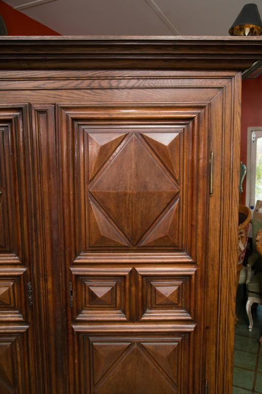 18th Century French Oak Armoire 7