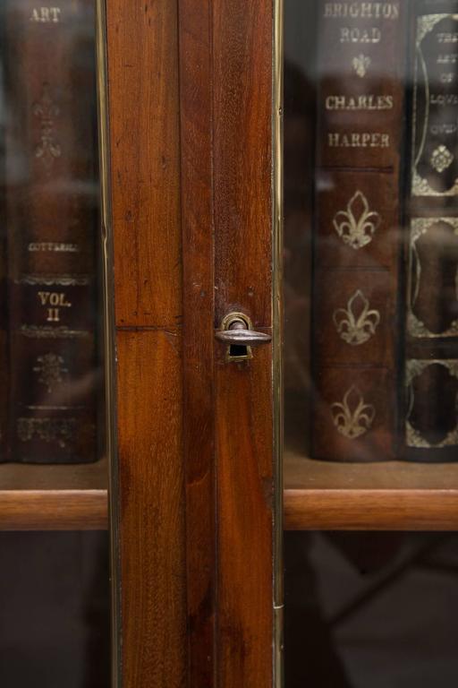 19th Century, Louis XVI Style Mahogany Bookcase For Sale 1