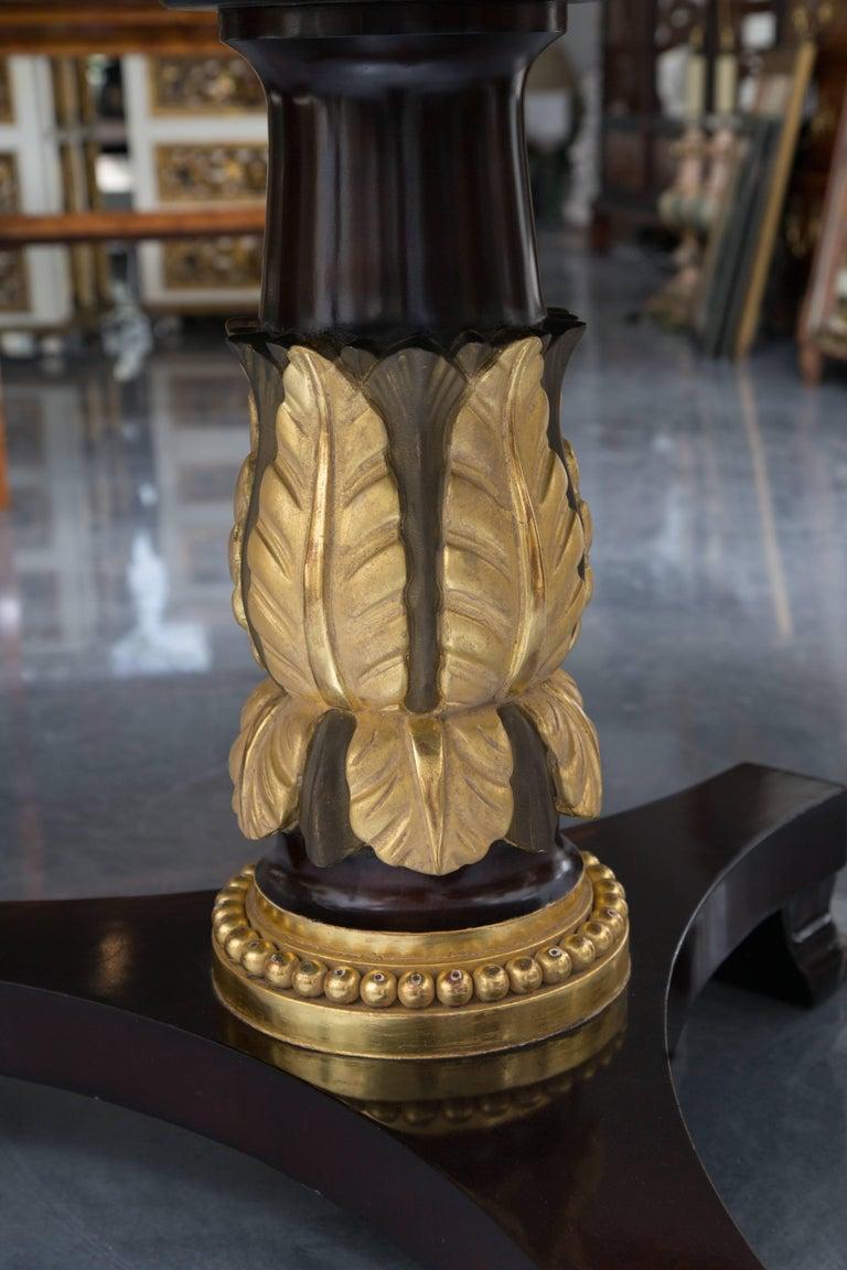Mahogany Regency Style Center Table 4