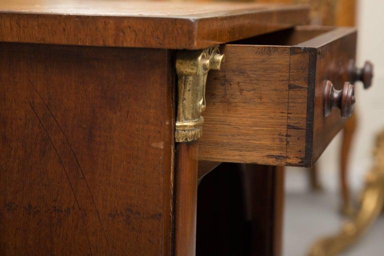 19th Century Mahogany Knee Hole Desk For Sale 1