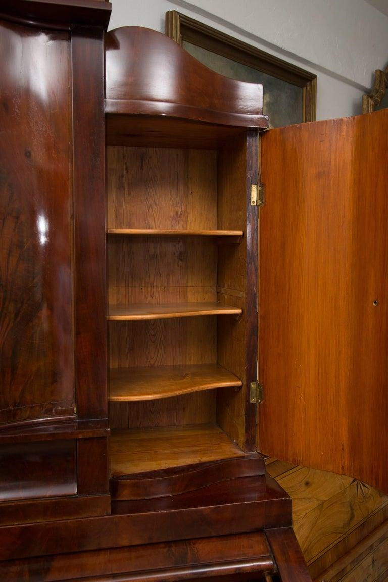 19th Century Danish Biedermeier Bureau Secretary Desk For Sale 4