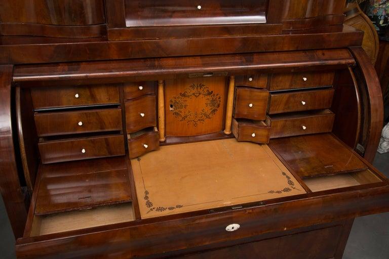 19th Century Danish Biedermeier Bureau Secretary Desk For Sale 2
