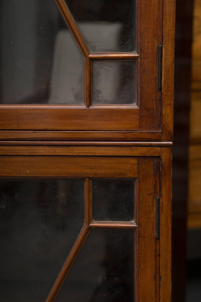 19th Century Dwarf English Bookcase For Sale 1