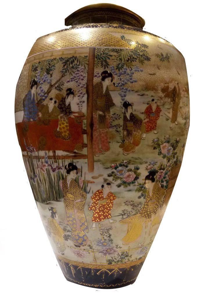 Late 19th century meiji period japanese satsuma vase for sale at other late 19th century meiji period japanese satsuma vase for sale reviewsmspy