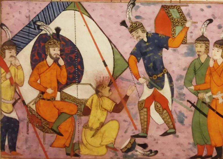 Safavid 17th Century Painting