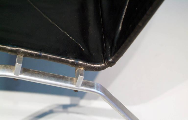 Poul Kjaerholm PK22 Easy Chair E. Kold Christensen, 1960s, Denmark Black Leather 4