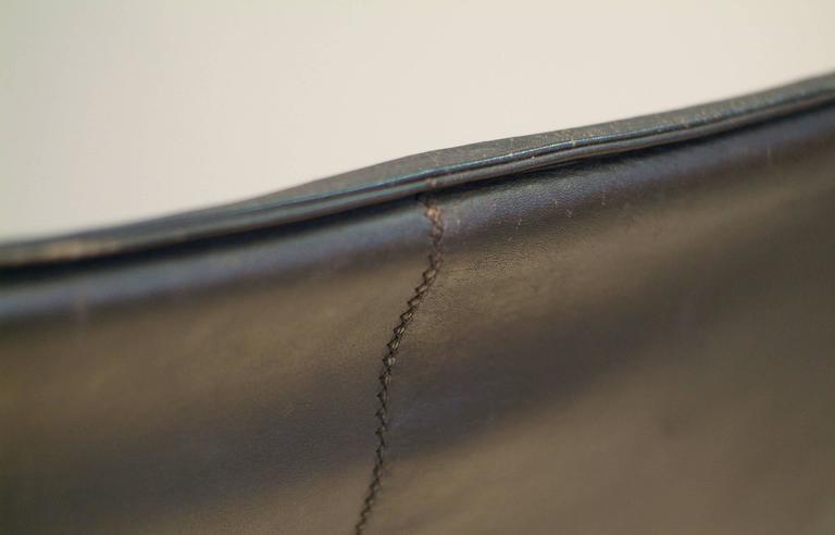 Poul Kjaerholm PK22 Easy Chair E. Kold Christensen, 1960s, Denmark Black Leather 3