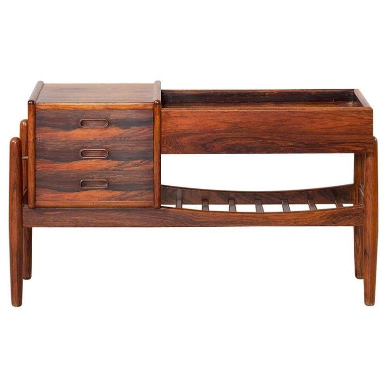 Arne Wahl Iversen Sideboard Commode Rosewood Chest of Drawers Vamø Denmark