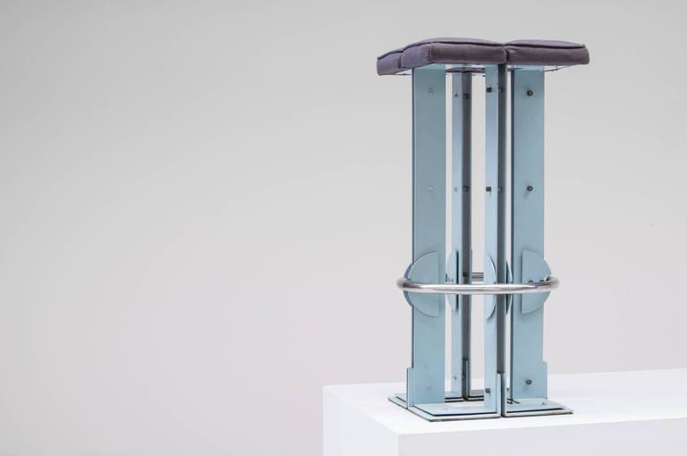 High Stool By Belgian Architect Jan Tanghe For Group