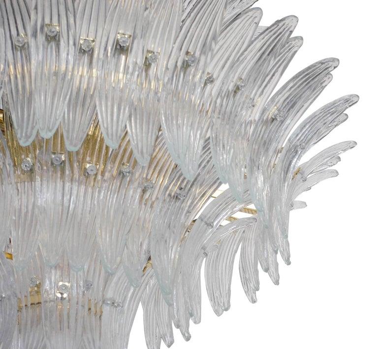 Italian Tropicale Palmette Chandelier by Fabio Ltd For Sale