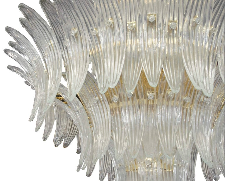Tropicale Palmette Chandelier by Fabio Ltd In New Condition For Sale In Venice, Italy