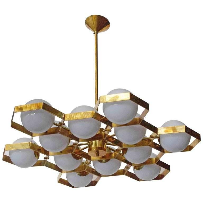 Honeycomb Kronleuchter von Fabio Ltd 2