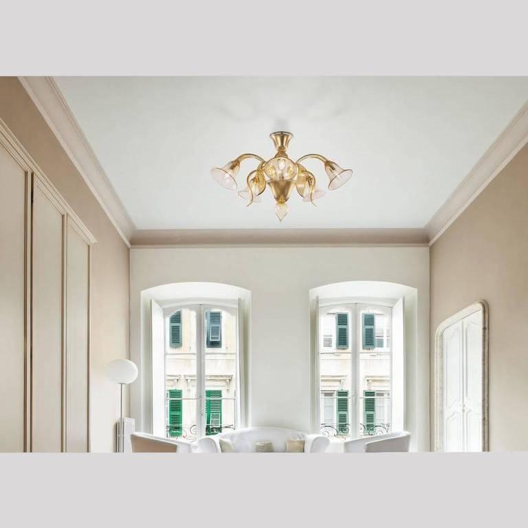 Modern Prato Chandelier by Fabio Ltd For Sale