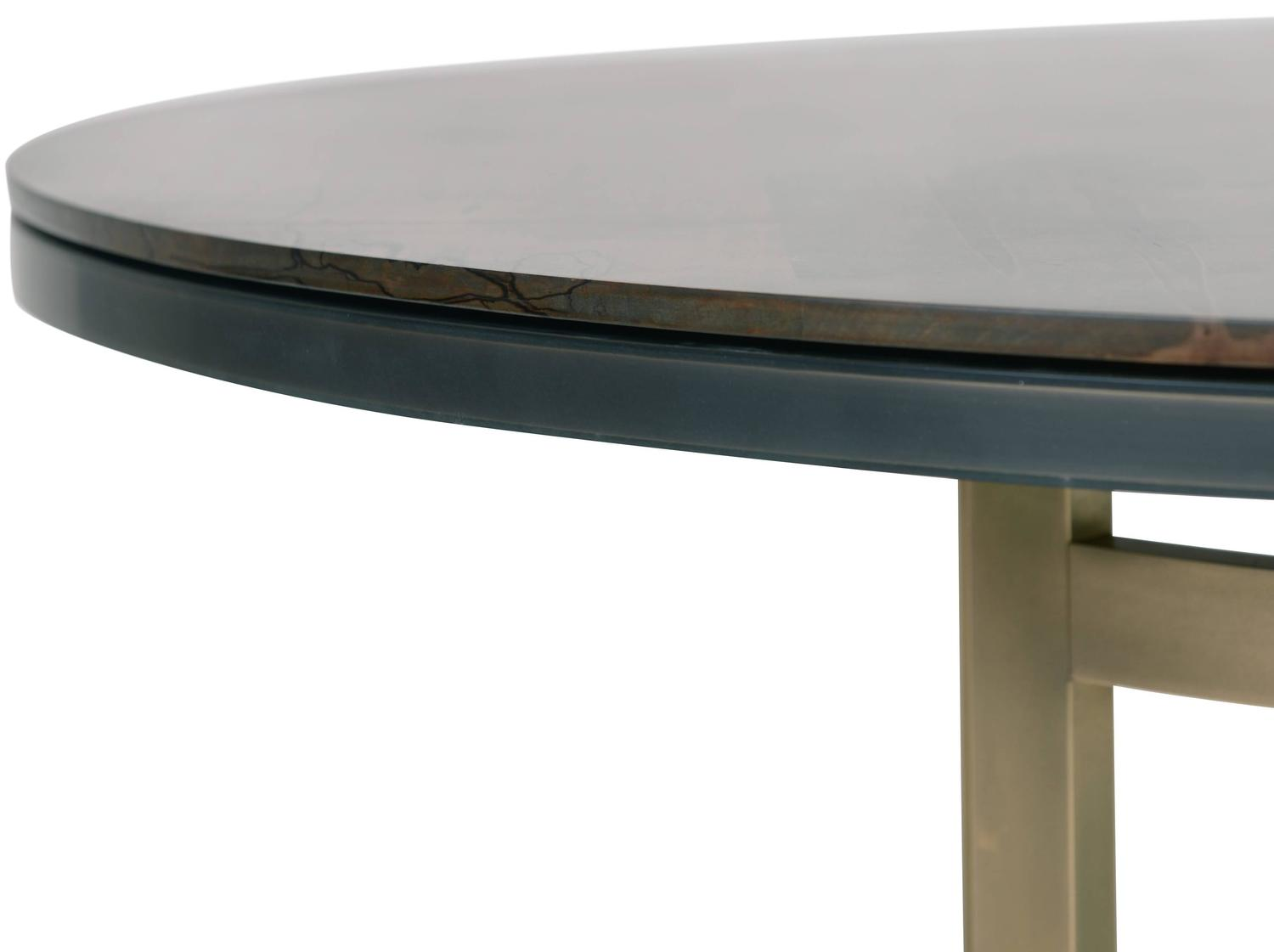 Gotham Coffee Table Customizable Wood Metal And Resin For Sale At 1stdibs