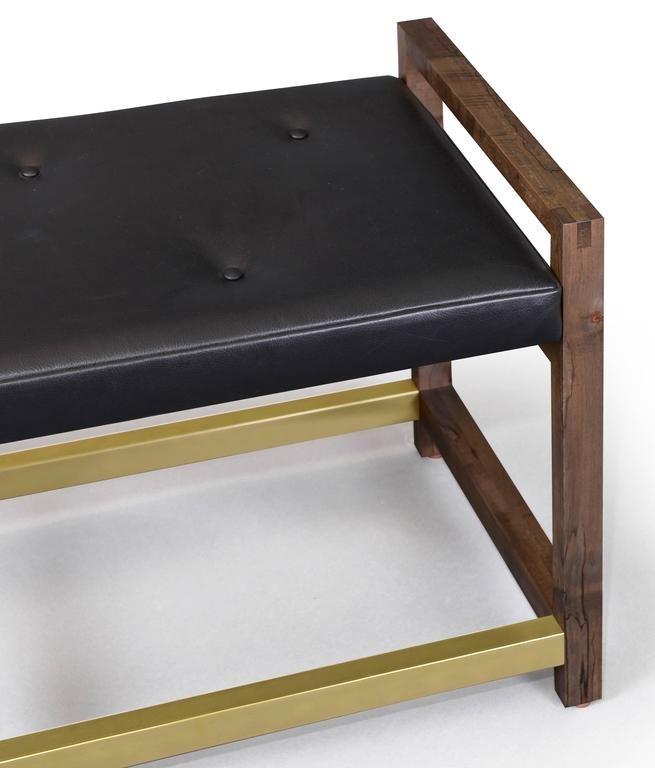 Gotham Bench Customizable Wood Metal and Material For