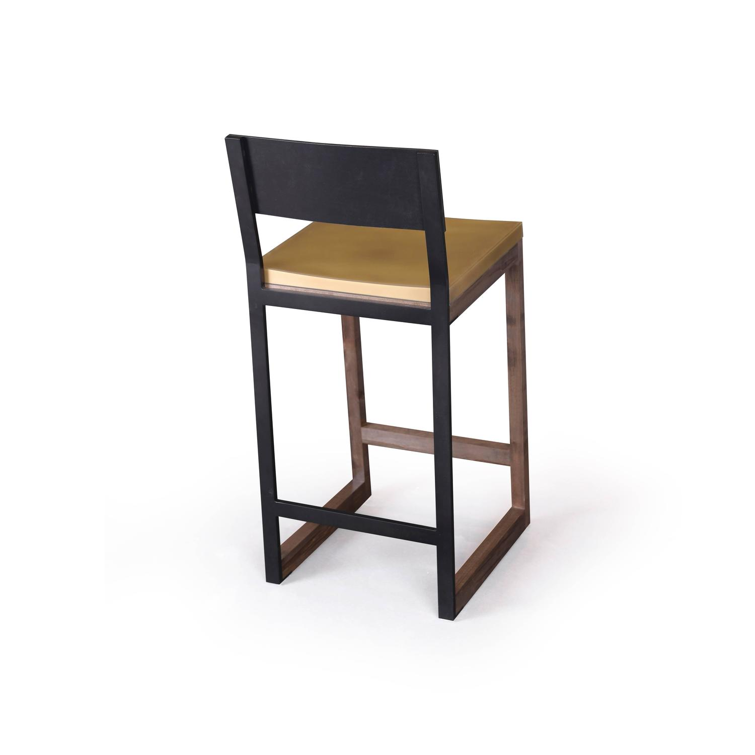 Gotham Stools Customizable Metal Wood And Resin For Sale