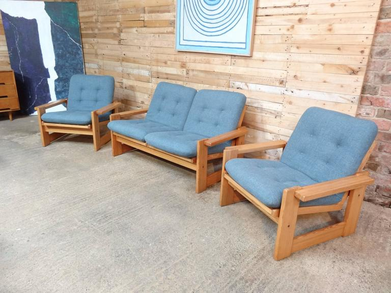 Mid-Century Modern Rare Vintage Dutch Pastoe Two-Seat Sofa or Loveseat For Sale