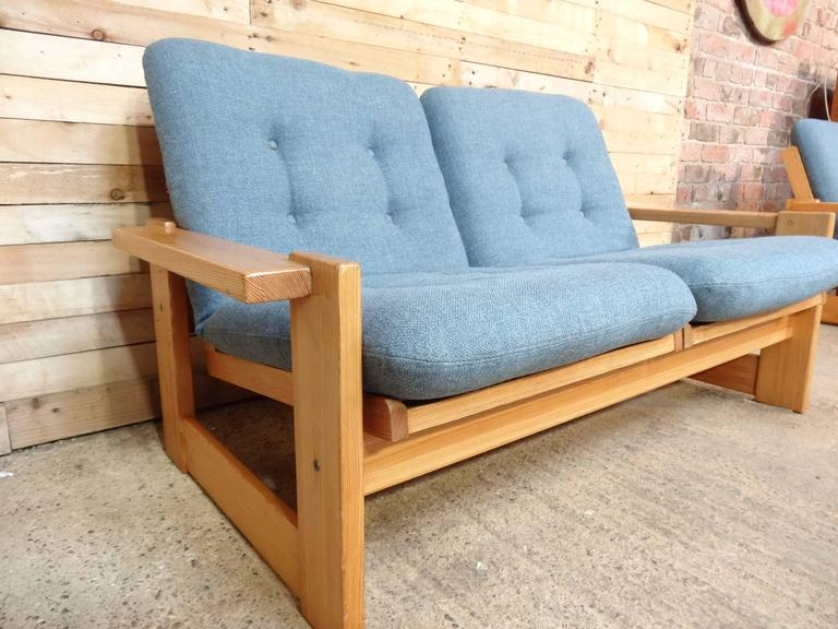 Rare Vintage Dutch Pastoe Two-Seat Sofa or Loveseat For Sale 1