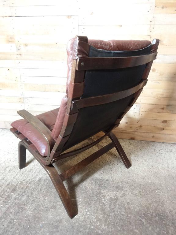 Mid-Century Modern, 1960, Retro Danish Ingmar Relling Siesta Lounge Chair 2