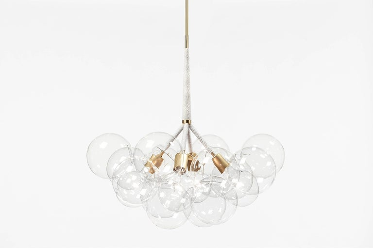 Ethereal And Iconic The Bubble Chandelier Is A Modern Re Interpretation Of Crystal