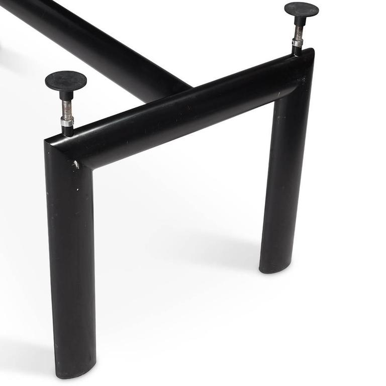 LC6\' Table by Le Corbusier for Cassina, circa 1990, Signed For Sale ...