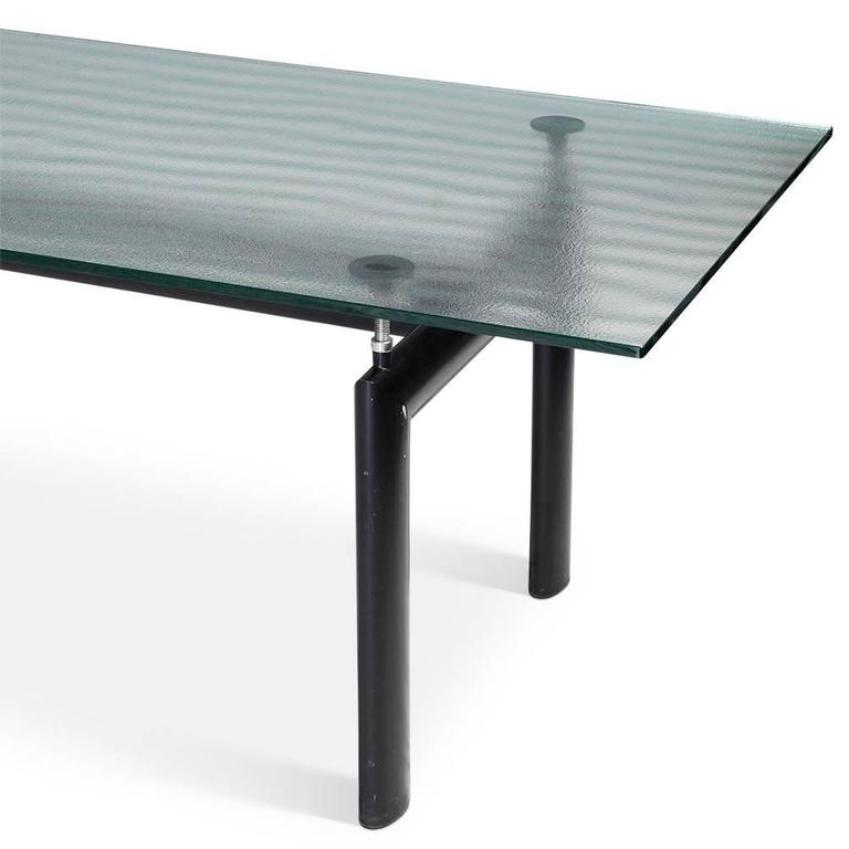 LC6 Table By Le Corbusier For Cassina Circa 1990
