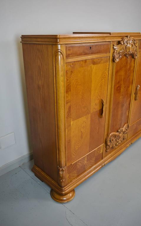 kitchens with oak cabinets pictures deco 1930s golden oak and walnut carved two 22293