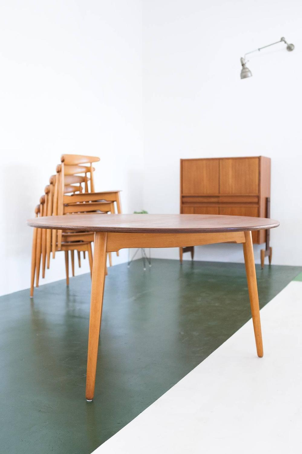 Image Result For Mid Century Round Dining Table Seta