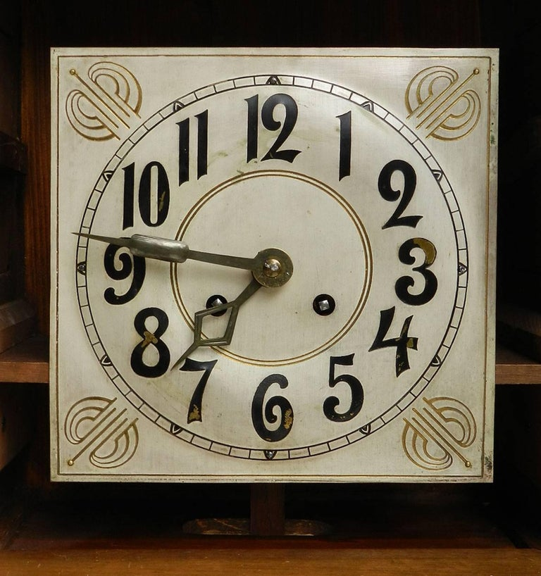 Arts and Crafts Wall Clock German Art Nouveau, circa 1900-1910 at ...