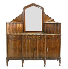 Credenza Sideboard Art Nouveau Art Deco Buffet Rare Find Hollywood Italian
