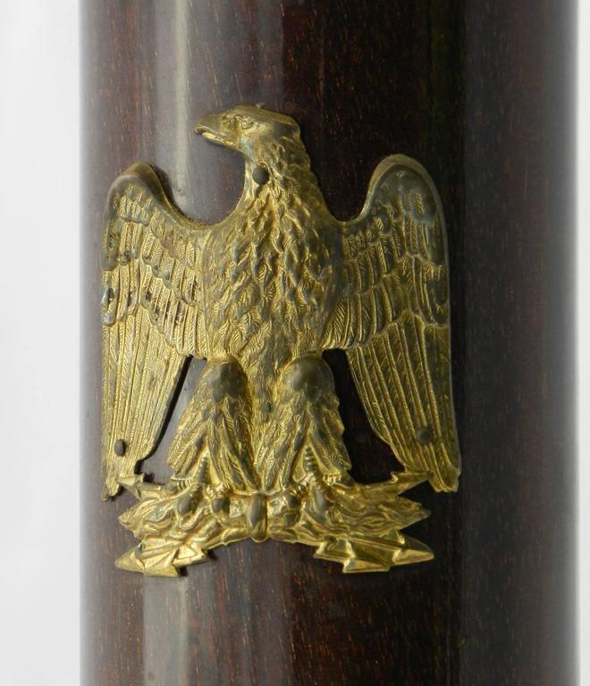 French Empire Revival Table Lamp Desk Light Ormolu Eagle