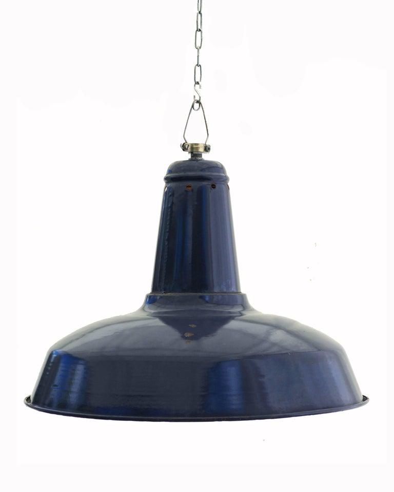 Midcentury Large Industrial Pendant Ceiling Light Loft