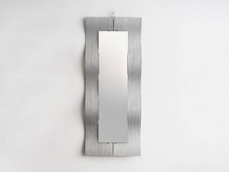 An elegant etched aluminum