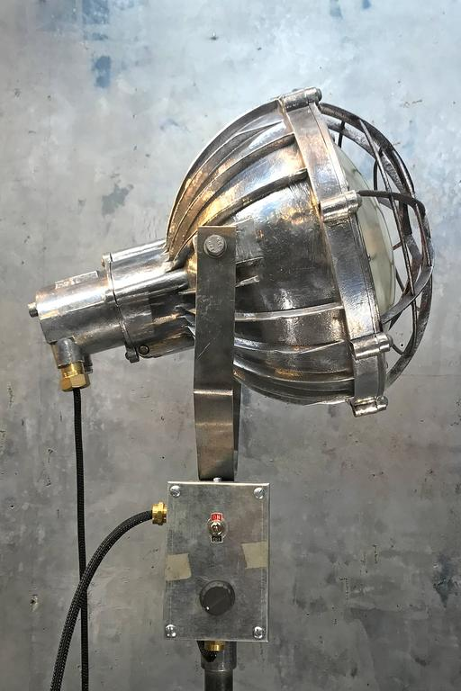 1970 S Japanese Aluminium Explosion Proof Spot Light And
