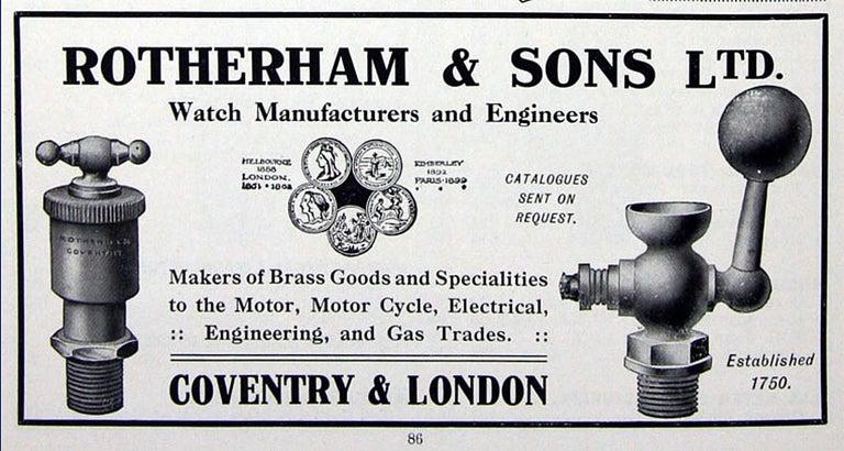 1940s Rotherham's British Brass, Bronze and Aluminium Maritime Searchlight For Sale 13