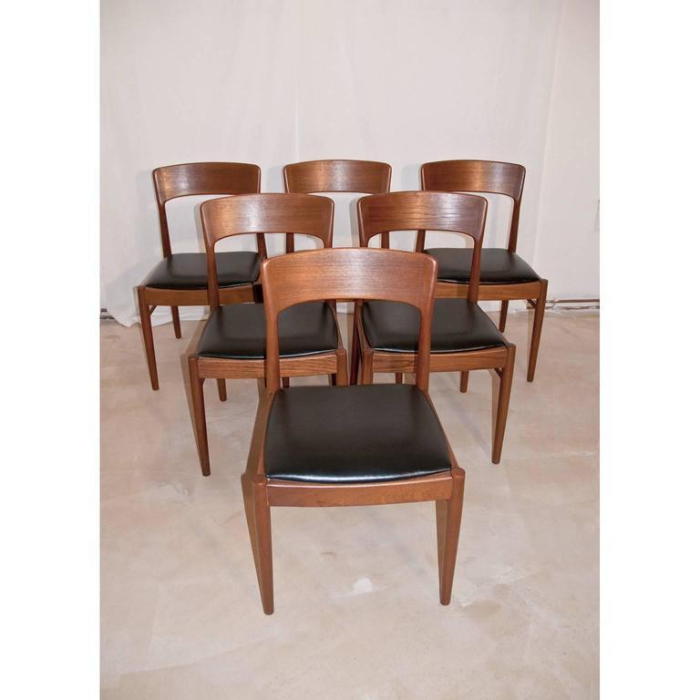 danish teak dining set for ks korub m ble designed by kai kristiansen