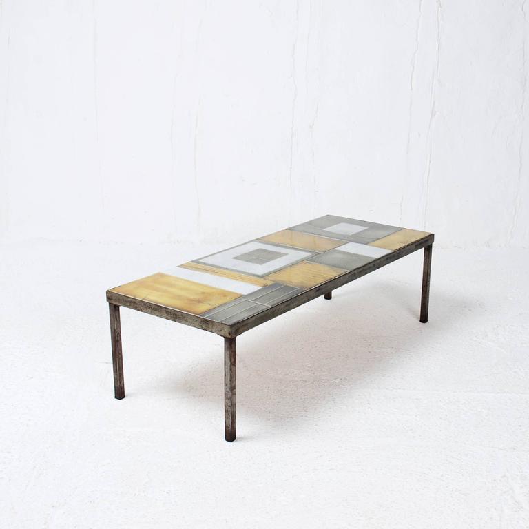 table basse carre ceramique. Black Bedroom Furniture Sets. Home Design Ideas
