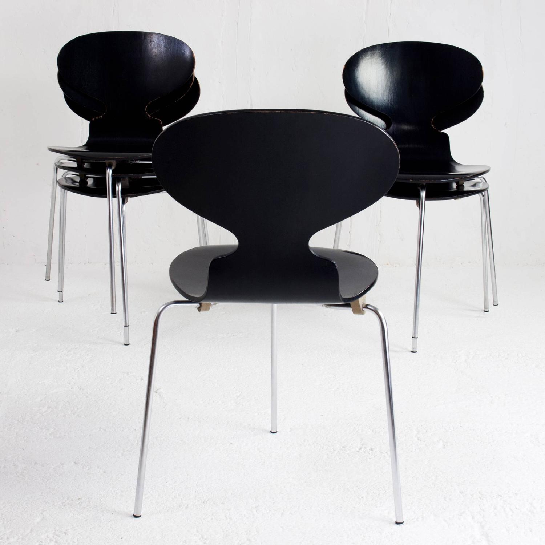 Danish ant chairs 3100 arne jacobsen for fritz hansen for Chaise arne jacobsen
