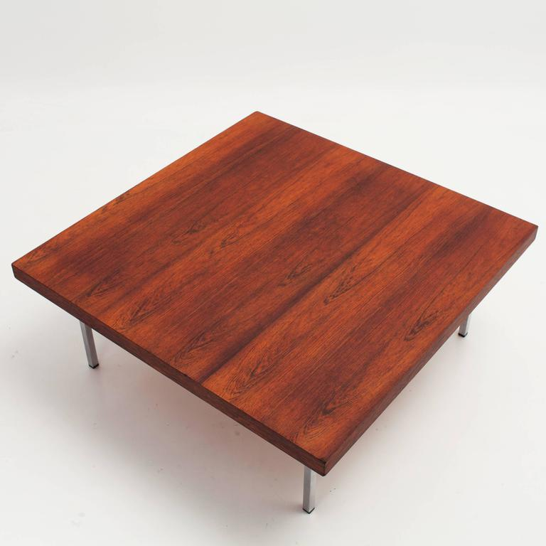 Kho liang le coffee table for artifort 1960s at 1stdibs - Pied table basse metal ...
