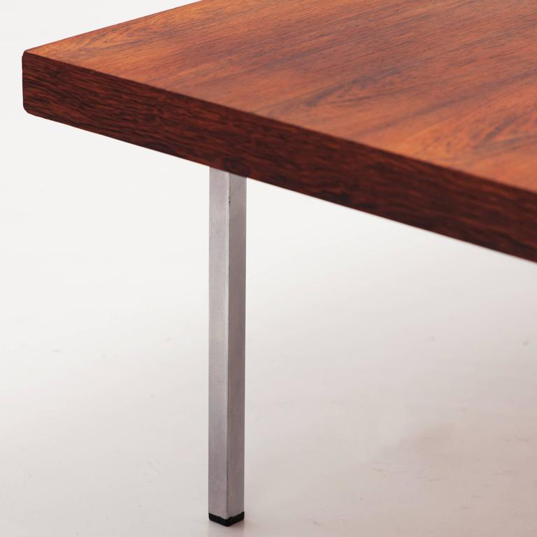 Kho liang le coffee table for artifort 1960s at 1stdibs - Pieds metal pour table basse ...