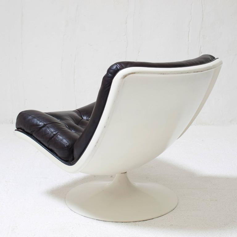 geoffrey d harcourt swivel lounge chair f976 for artifort 1960s at 1stdibs. Black Bedroom Furniture Sets. Home Design Ideas