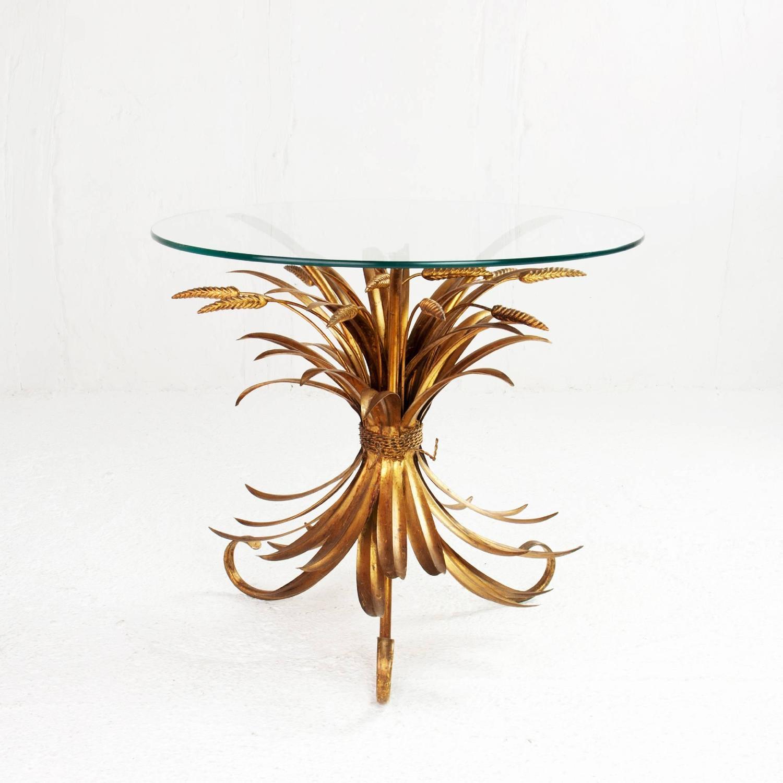 Table basse verre et metal dore - Fabriquer sa table basse ...