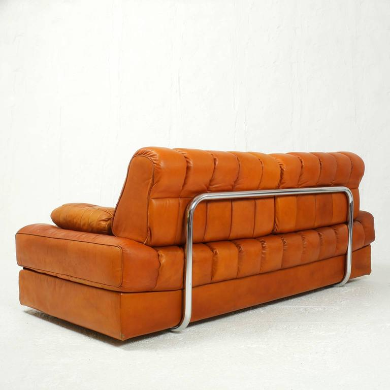 De Sede Ds 85 Leather Sofa Bed Switzerland At 1stdibs