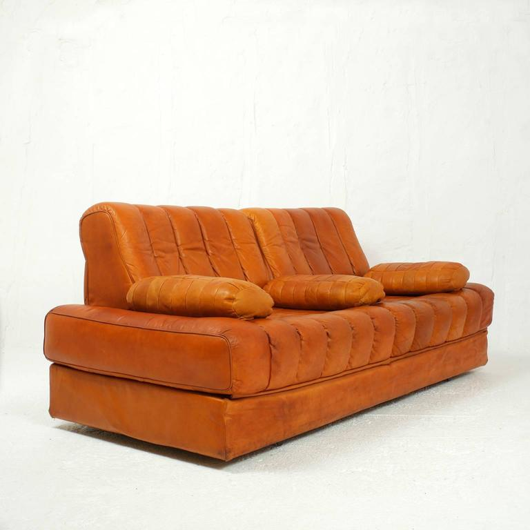 Sofa Bed Orange Sofa Bed Divan Deluxe Signature Orange By Casamode Thesofa
