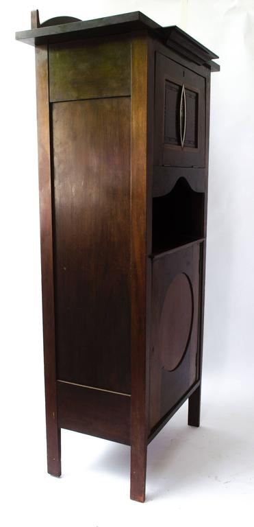 Side Music Cabinet by J S Henry For Sale at 1stdibs