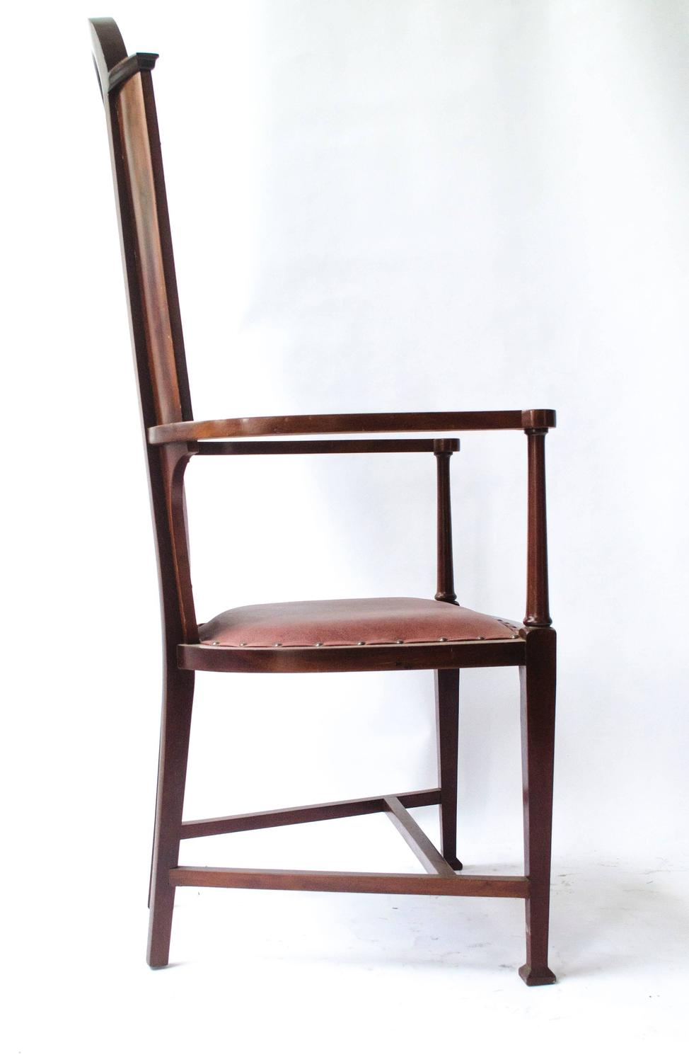 Arts and Crafts Armchair by J S Henry For Sale at 1stdibs