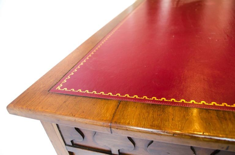 Edward William Godwin for William Watt, An Anglo-Japanese Walnut Desk. For Sale 1