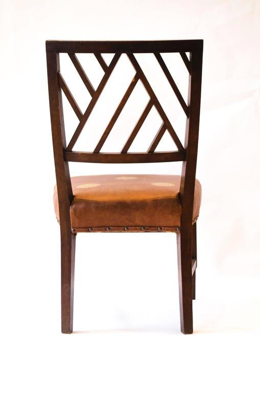 Arts and Crafts E W Godwin. .Attributed An Anglo-Japanese Walnut Side Chair. For Sale