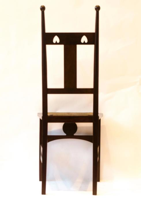 e Pair and e Single Arts and Crafts Side Chairs by J S