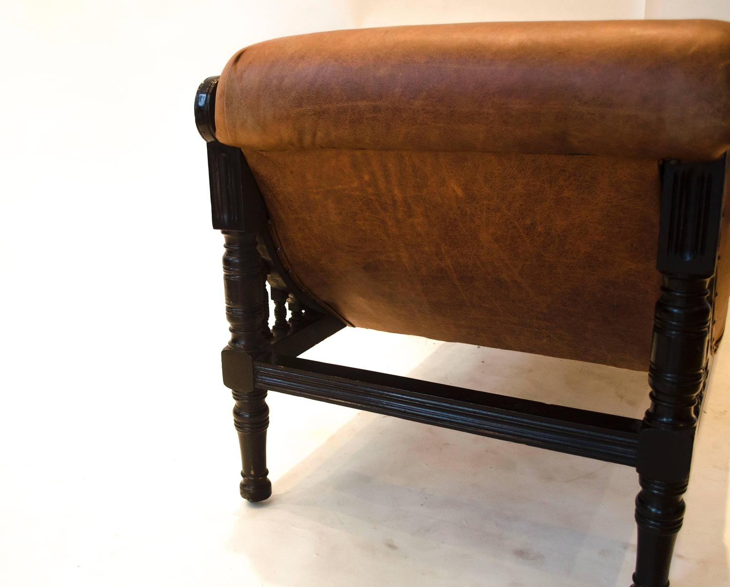 Anglo japanese ebonized chaise longue attributed to e w for Chaise longue dwg